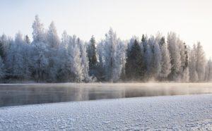 Tipico paesaggio finlandese