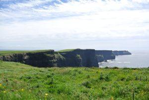 Tipico paesaggio irlandese